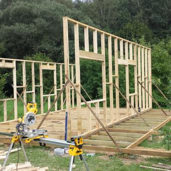 Karkasiniu namu statyba remontas  renovavimas Stogu dengimas / ovidijus / Darbų pavyzdys ID 405553