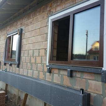 """Plastiko, Aliuminio, Medžio profilio langai,durys,pertvaros / UAB """"JUSTIGNA"""" / Darbų pavyzdys ID 405969"""