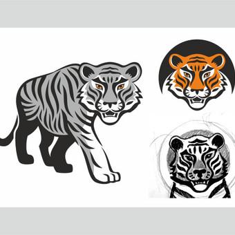 Grafikos dizainerė - logotipų kūrimas, skrajutės, vizitinės / Agnietė Suknelevičienė / Darbų pavyzdys ID 406429