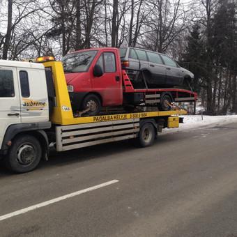 Technine Pagalba  kelyje automobilių pervežimas / Arunas Einingis / Darbų pavyzdys ID 406529
