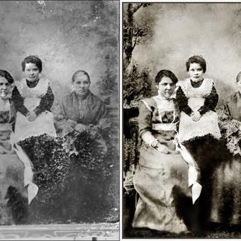 Nuotraukų restauravimas / Aleksandras / Darbų pavyzdys ID 406725