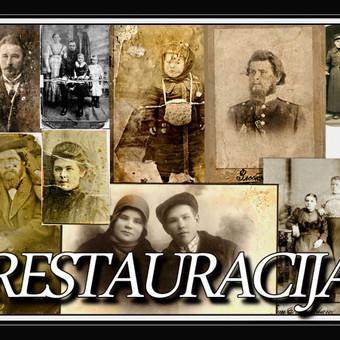 Nuotraukų  restauracija / Aleksandras / Darbų pavyzdys ID 406839