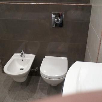 Santechnika. Šildymas. Pilnas vonios kambario įrengimas. / Michail / Darbų pavyzdys ID 407441