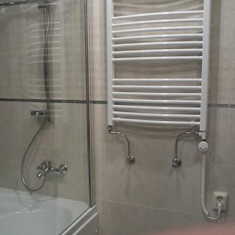 Santechnika. Šildymas. Pilnas vonios kambario įrengimas. / Michail / Darbų pavyzdys ID 407439