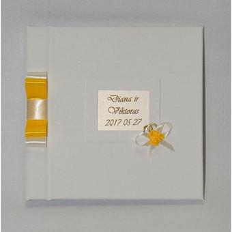 Albumai palinkėjimų knygų gamyba / Rasoti Žiedai / Darbų pavyzdys ID 407703