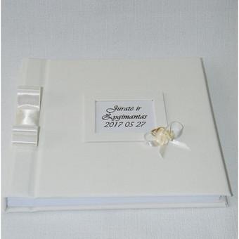 Albumai palinkėjimų knygų gamyba / Rasoti Žiedai / Darbų pavyzdys ID 407709