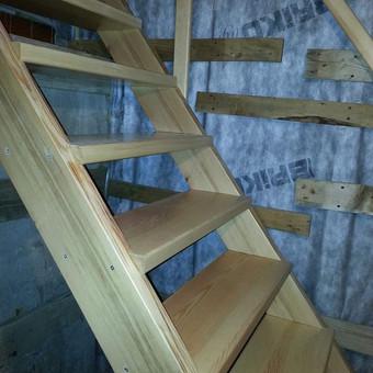 Medinių durų, laiptų ir kubilų gamyba / Saulius / Darbų pavyzdys ID 407905