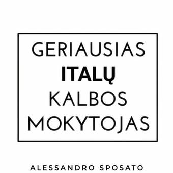 Italų kalbos kursai, pamokos / Alessandro / Darbų pavyzdys ID 408151