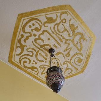 Interjero dekoravimas, akrilas, lubos