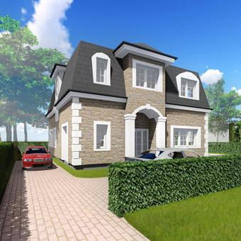 Namų projektai / TAU projektai / Darbų pavyzdys ID 408807