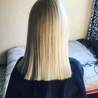 Ilgalaikis plaukų tiesinimas COCOCHOCO keratinu / Karolina / Darbų pavyzdys ID 408845