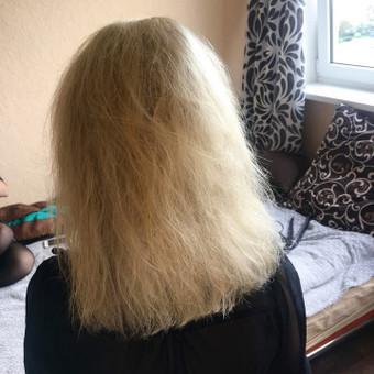 Ilgalaikis plaukų tiesinimas COCOCHOCO keratinu / Karolina / Darbų pavyzdys ID 408847