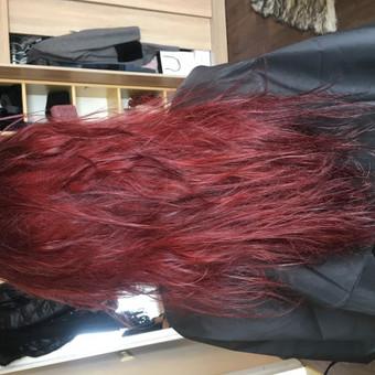 Ilgalaikis plaukų tiesinimas COCOCHOCO keratinu / Karolina / Darbų pavyzdys ID 408849