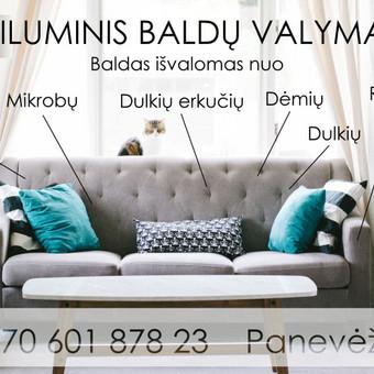 Minkštų baldų valymas Panevėžyje / Arnoldas Černauskas / Darbų pavyzdys ID 408973