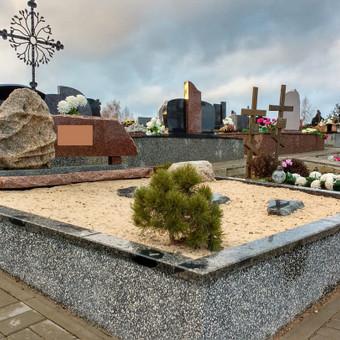 Kapų tvarkymas, dengimas granito plokštėmis, Paminklai / Paulius Latvys / Darbų pavyzdys ID 408977
