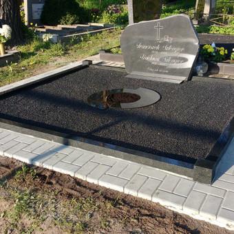 Kapų tvarkymas, dengimas granito plokštėmis, Paminklai / Paulius Latvys / Darbų pavyzdys ID 408979
