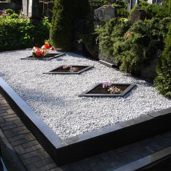 Kapų tvarkymas, dengimas granito plokštėmis, Paminklai / Paulius Latvys / Darbų pavyzdys ID 408987