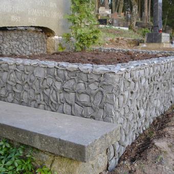 Kapų tvarkymas, dengimas granito plokštėmis, Paminklai / Paulius Latvys / Darbų pavyzdys ID 408989