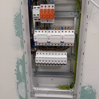 Elektros montavimo darbai. / Marius Ž. / Darbų pavyzdys ID 409187