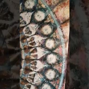 Veniciano tinko Mandala - meninis akcentinis dekoravimas, tinkantis papuošti interjero sienas. Tinkas atsparus drėgmei, taršai. Taikyti galima įvariose vidaus patalpose, taip pat  virtuvėje, von ...
