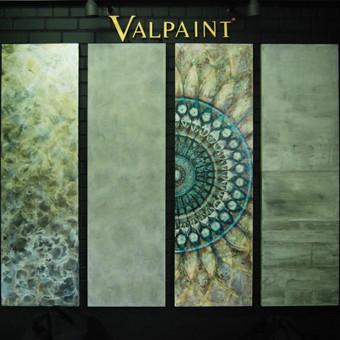 """Veniciano tinko """"Mandala"""" - meninis akcentinis dekoravimas, tinkantis puošti interjero sienas. Tinkas atsparus drėgmei, taršai. Taikyti galima įvariose vidaus patalpose, taip pat  virtuvėje, von ..."""