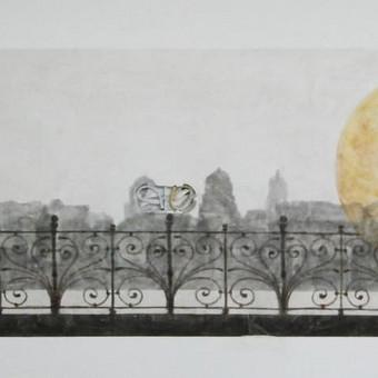 Romantic II ( veniciano mix dekoras - sienelė tarp baldų) detalė. Sienos dekoravimas ir pritaikymas interjere. Veneciano tinkas - mix media , atsparus vandeniui, taršai, tinka įvairiose patalpos ...