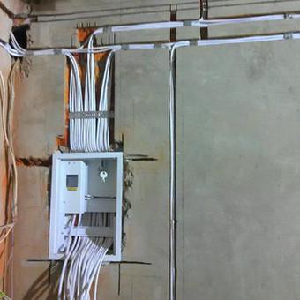 """Kvalifikuoti elektros instaliacijos darbai / UAB """"GIMINIJA"""" / Darbų pavyzdys ID 409721"""