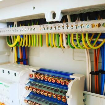 """Kvalifikuoti elektros instaliacijos darbai / UAB """"GIMINIJA"""" / Darbų pavyzdys ID 409733"""