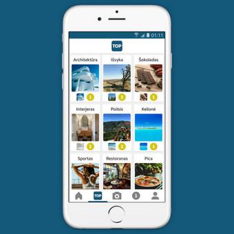 Android ir iOS mobiliųjų aplikacijų programavimas / Aurintas Bubinas / Darbų pavyzdys ID 410085