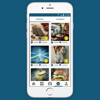 Android ir iOS mobiliųjų aplikacijų programavimas / Aurintas Bubinas / Darbų pavyzdys ID 410087