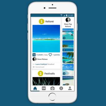 Android ir iOS mobiliųjų aplikacijų programavimas / Aurintas Bubinas / Darbų pavyzdys ID 410089