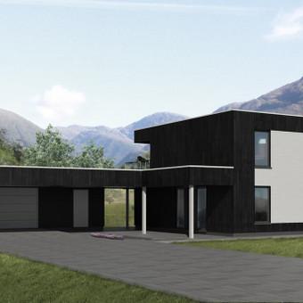 Namų projektavimas ir statyba / Andrius Pėtnyčia / Darbų pavyzdys ID 410099