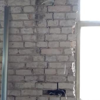 Elektros montavimo darbai. / Marius Ž. / Darbų pavyzdys ID 410249