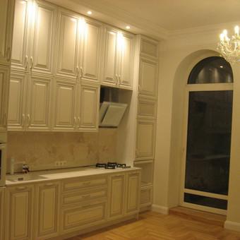 """Virtuvės baldai. Vonios baldai. Akmuo. UAB """"Forestė"""" / Dizainerė Audronė Baldai-Interjeras / Darbų pavyzdys ID 411427"""