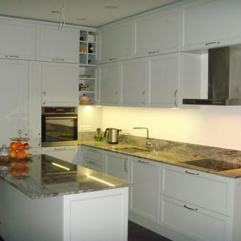 """Virtuvės baldai. Vonios baldai. Akmuo. UAB """"Forestė"""" / Dizainerė Audronė Baldai-Interjeras / Darbų pavyzdys ID 411471"""