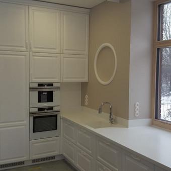 """Virtuvės baldai. Vonios baldai. Akmuo. UAB """"Forestė"""" / Dizainerė Audronė Baldai-Interjeras / Darbų pavyzdys ID 411473"""