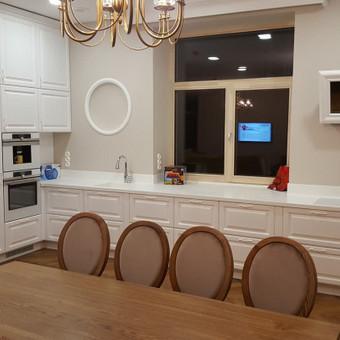 """Virtuvės baldai. Vonios baldai. Akmuo. UAB """"Forestė"""" / Dizainerė Audronė Baldai-Interjeras / Darbų pavyzdys ID 411475"""