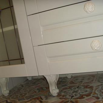 """Virtuvės baldai. Vonios baldai. Akmuo. UAB """"Forestė"""" / Dizainerė Audronė Baldai-Interjeras / Darbų pavyzdys ID 411477"""
