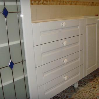 """Virtuvės baldai. Vonios baldai. Akmuo. UAB """"Forestė"""" / Dizainerė Audronė Baldai-Interjeras / Darbų pavyzdys ID 411479"""