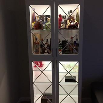 """Virtuvės baldai. Vonios baldai. Akmuo. UAB """"Forestė"""" / Dizainerė Audronė Baldai-Interjeras / Darbų pavyzdys ID 411625"""