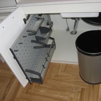 """Virtuvės baldai. Vonios baldai. Akmuo. UAB """"Forestė"""" / Dizainerė Audronė Baldai-Interjeras / Darbų pavyzdys ID 411659"""