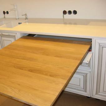 """Virtuvės baldai. Vonios baldai. Akmuo. UAB """"Forestė"""" / Dizainerė Audronė Baldai-Interjeras / Darbų pavyzdys ID 411681"""