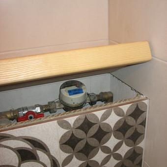 """Virtuvės baldai. Vonios baldai. Akmuo. UAB """"Forestė"""" / Dizainerė Audronė Baldai-Interjeras / Darbų pavyzdys ID 411697"""