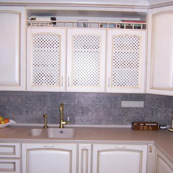 """Virtuvės baldai. Vonios baldai. Akmuo. UAB """"Forestė"""" / Dizainerė Audronė Baldai-Interjeras / Darbų pavyzdys ID 411757"""