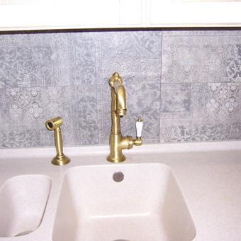 """Virtuvės baldai. Vonios baldai. Akmuo. UAB """"Forestė"""" / Dizainerė Audronė Baldai-Interjeras / Darbų pavyzdys ID 411759"""