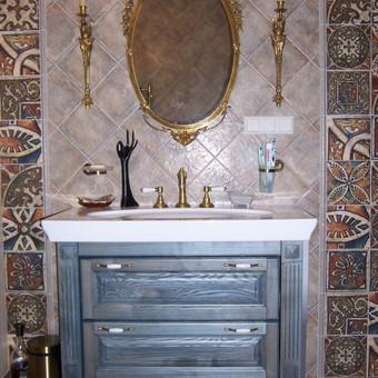 """Virtuvės baldai. Vonios baldai. Akmuo. UAB """"Forestė"""" / Dizainerė Audronė Baldai-Interjeras / Darbų pavyzdys ID 411807"""