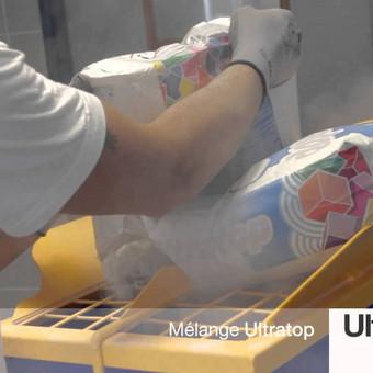 Poliruoto ir dekoratyvinio betono sistema ULTRATOP