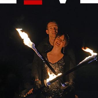 Fakyrų ugnies šou / Ugnies teatras / Darbų pavyzdys ID 412377
