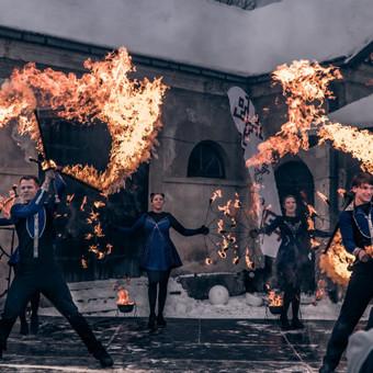 Fakyrų ugnies šou / Ugnies teatras / Darbų pavyzdys ID 412385