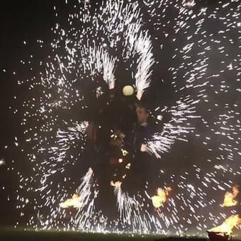 Fakyrų ugnies šou / Ugnies teatras / Darbų pavyzdys ID 412387
